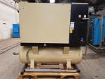 Ingersoll-Rand - UP5-18 on receiver - 18kW - Ref:17074 / Lubricated rotary screw compressors / Ingersoll SSR lubricated screw compressors